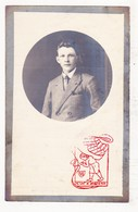 DP Foto - Jules J. Vervaeke / De Waele 18j. ° Hulste Harelbeke 1904 † Kanegem 1922 - Images Religieuses