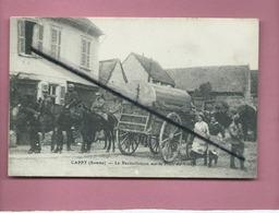 CPA - Cappy  -(Somme) - Le Ravitaillement Sur La Place Du Village - Autres Communes