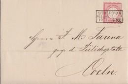 DR Brief EF Minr.4 R3 Stolberg Reg. Bez. Aachen 19.7.72 - Briefe U. Dokumente
