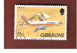 GIBILTERRA (GIBRALTAR)   - SG 468 - 1982 BOEING 737   -    USED - Gibilterra