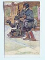 5002 Prima Guerra Pubblicitaria Pubblicita Militare Cechi Legione 1918 Pamatnik Odboje Russia Maly Mendicanti N 61 - Italia