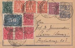 DR GS Zfr. Minr.158,3x 182,4x 206,226,246 SST Todtmoos 18.1.23 Gel. In Schweiz - Deutschland