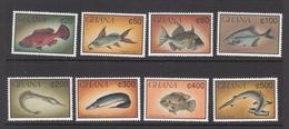 1991 Ghana Fish Poisson Complete Set Of 8 MNH - Ghana (1957-...)