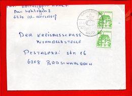 ALLEMAGNE, RFA, Lettre De Camberg, Oblitération Illustrée - [7] République Fédérale
