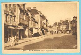 CPA 35 DOL DE BRETAGNE Grande Rue 1950 - Dol De Bretagne