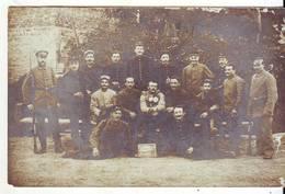 Cpa  Photo Groupe De Français à Sonderhofen - War 1914-18