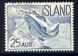 ISLANDE -  294° - SAUMON - Used Stamps