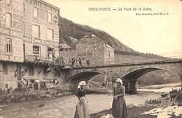 Trois-Ponts - Le Pont De La Salne (animée, 1904) - Trois-Ponts