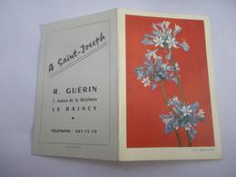 A SAINT JOSEPH Le Raincy 7 Avenue De La Résistance R. Guérin Calendrier Poche 1963 - General Issues