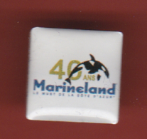 52963-Pin's .Marineland.Antibes.. - Città