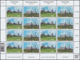 2495-2496 EUROPA Burgen Und  Schlösser 2017, Zusammendruck-Kleinbogen ** - Schweiz