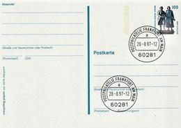 Germany Cancelled Postal Stationery Card ( Ganzsache) - [7] Federal Republic