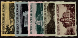 ROM SC #987-991 MNH 1954 Workers' Rest Homes SCV $12.40 - 1948-.... Republics