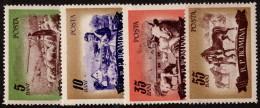 ROM SC #1068-71 MNH 1955 Animal Husbandry SCV $8.00 - 1948-.... Republics