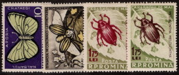 ROM SC #1103-6 MNH 1956 Insect Pests SCV $36.25 - Unused Stamps