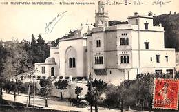 Mustapha Superieur - L'Eglise Anglicane (animée, 1914) - Autres Villes