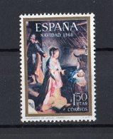 SPAGNA :   NATALE 68  - Quadro Di F.Barocci   -  1 Val.  MNH**  Del   2.12.1968 - 1931-Oggi: 2. Rep. - ... Juan Carlos I