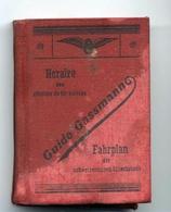 TRAIN DU CHEMINS DE FER SUISSE PUB MONTRE AU DOS --1954--Z42 - Europe