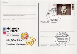 Germany Cancelled Postal Stationery Card ( Ganzsache) - Cinema