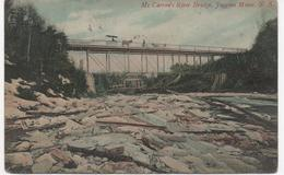 Mc Carron's River Bridge - Joggins Mines Nova Scotia - Canada Postally Used 1907 - Nouvelle-Écosse