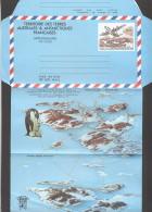 TAFF Aérogramme No 1  ** Plié - Postal Stationery