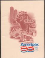 Ameripex86 Souvenir Book Multiple Souvenir Sheets And Stamps  High CV - Esposizioni Filateliche