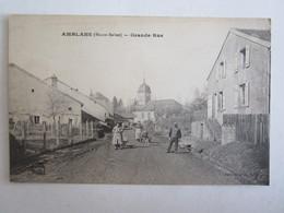 70 Haute Saône Amblans Grande Rue - Ohne Zuordnung
