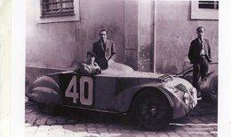 24 Heures Du Mans 1937  -  Chenard Et Walcker  -  Pilotes: Charles Cotet/Charles Roux  -  15x10 PHOTO - Le Mans