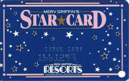 Resorts Casino - Atlantic City NJ - Slot Card (SC95 Above Mag Stripe) - Casino Cards