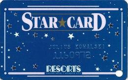Resorts Casino - Atlantic City NJ - Slot Card / Rarer 1-888-771-1SUN Phone# - Casino Cards