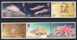 GB ISLE OF MAN IOM - 1994 EUROPA MARINE DISCOVERIES SET (6V) FINE MNH ** SG 600a, 603a - Europa-CEPT