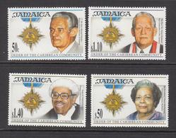 1995 Jamaica Order Of Caribbean Politicians    Complete Set Of 4 MNH - Giamaica (1962-...)