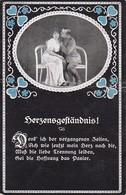 AK Deutscher Soldat Mit Frau - Herzensgeständnis - Patriotika - 1. WK (35003) - Guerre 1914-18