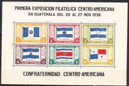 Guatemala 1938 Mi#Block 2 Mint Never Hinged - Guatemala