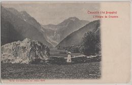 Casaccia (Val Bregaglia) L'Albigna Da Casaccia, Animee Mit Kind - GR Grisons