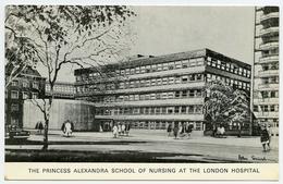 LONDON : THE PRINCESS ALEXANDRA SCHOOL OF NURSING AT THE LONDON HOSPITAL - London Suburbs