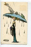 MOLYNK Femme Chapeau  Surréalisme - Other Illustrators