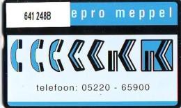 Telefoonkaart  LANDIS&GYR NEDERLAND * RCZ.641  248b * KRIPA REPRO MEPPEL  * TK * ONGEBRUIKT * MINT - Privé