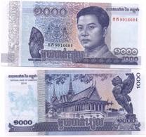 Cambodia - 1000 Riels 2016 - 2017 UNC Ukr-OP - Kambodscha
