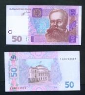UKRAINE  -  2014  50 Hryvnia  UNC Banknote - Ukraine