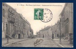 55. Stenay. Rue Chanzy (partie Haute). Emplacement De La Porte De Cervizy. 1909 - Stenay