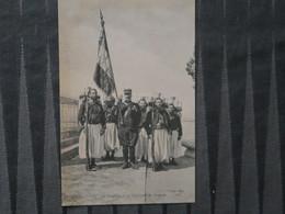 BZ - Le Drapeau Du 3 ème Régiment De Zouave - Regiments