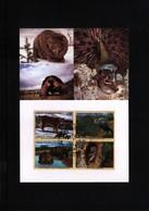 UNO Geneva 2001 Protected Animals Maximumcard - Briefmarken