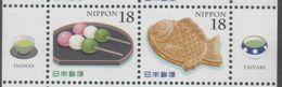 JAPAN, 2017,MNH,  FOOD, DESSERTS, FISH,2v - Food
