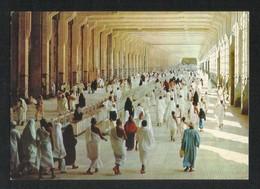 Saudi Arabia Picture Postcard Holy Pilgrims Performing Sa'Al In Safa Marwa Islamic View Card - Saudi Arabia