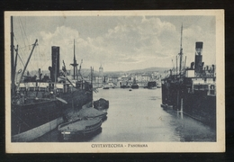 CIVITAVECCHIA - ROMA 1932 - PANORAMA - FORMATO PICCOLO - Other