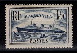 YV 299 Paquebot Normandie N* Cote 15 Eur - France