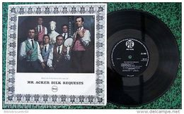 LP 25cm * Mr ACKER BILK REQUESTS * < PYE GROUP RECORDS NJT 513 (U.K.) - Jazz