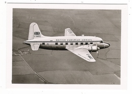 VICKERS  VIKING  /  BRITISH EUROPEAN AIRWAYS  ( BEA , APPAREIL N° G-MGG ) /  MINICARTE  ( Format  :  65  X  89 Mm ) - 1946-....: Moderne