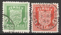 Jersey 1/2 X O - Besetzungen 1938-45